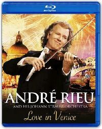 Cover André Rieu and His Johann Strauss Orchestra - Love In Venice - The 10th Anniversary Concert [DVD]